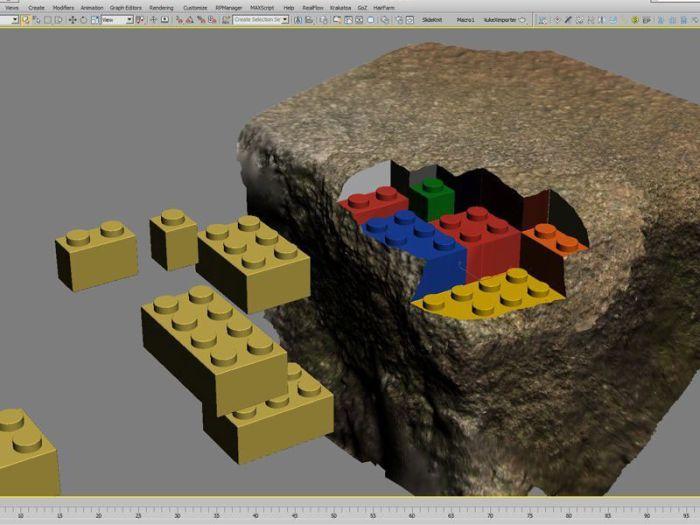 3D Printed LEGO Block (10 pics)