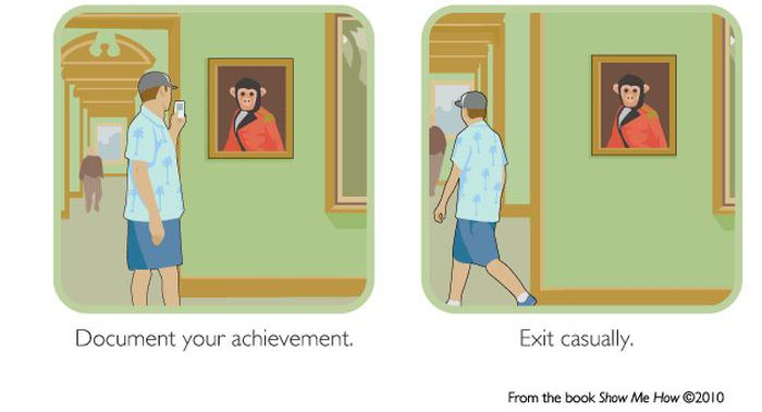 How to Hang Your Art in a Museum (4 pics)