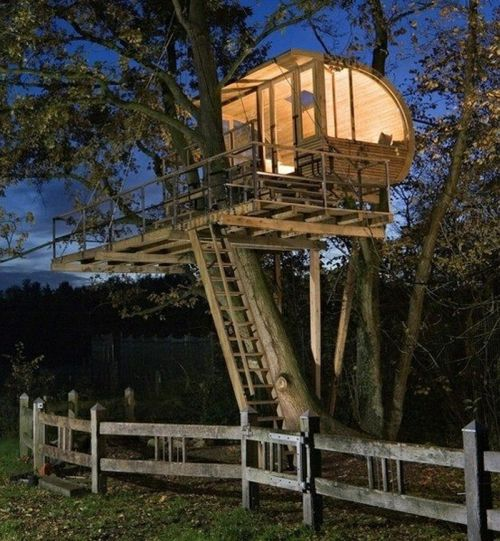 Tree Houses for Adults (40 pics)