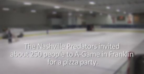 NHL Team Nashville Predators Made a Surprise For Kids