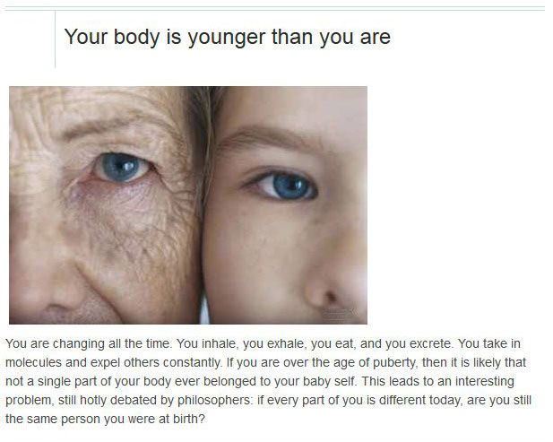 Things You Didn't Know About Yourself (10 pics)