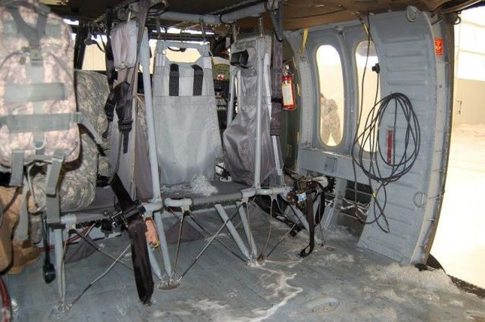 Fire Test Fail. Black Hawks Covered with Foam (16 pics)