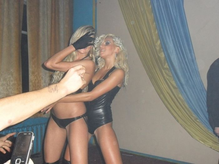 Striptease in a Russian School (4 pics)