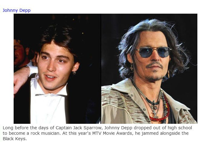 The Jobs They Had Before They Were Famous (46 pics)