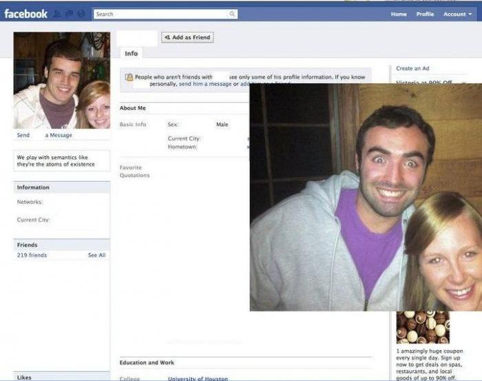 Facebook Profile Picture Replication (8 pics)