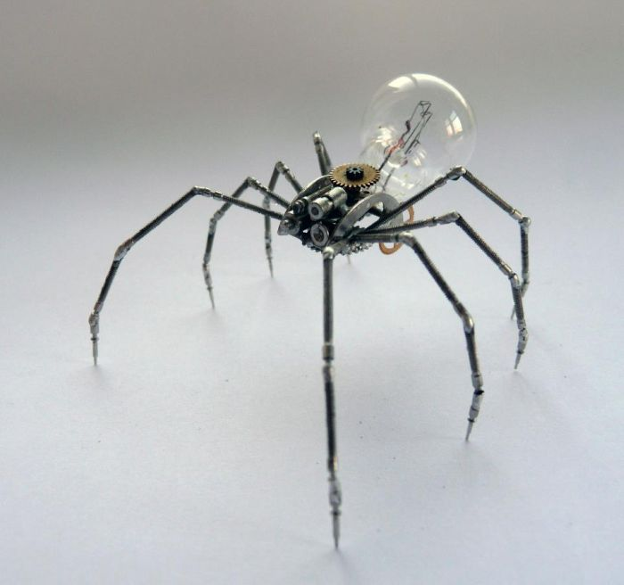 Steampunk Insects. Part 2 (26 pics)