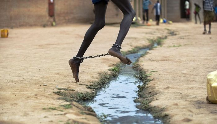 Prison in South Sudan (30 pics)