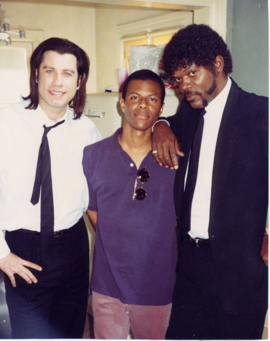 "Behind the Scenes of ""Pulp Fiction"" (16 pics)"