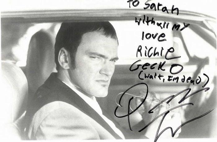Tarantino Letter (5 pics)