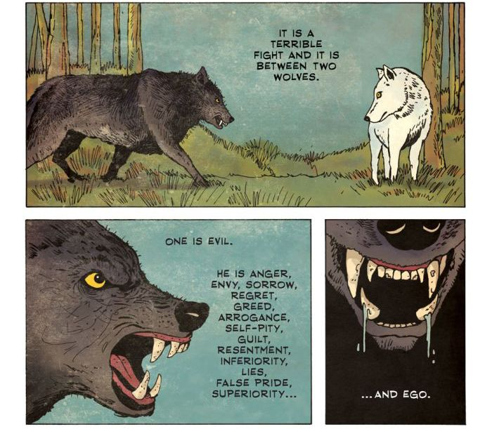 Two Wolves (7 pics)