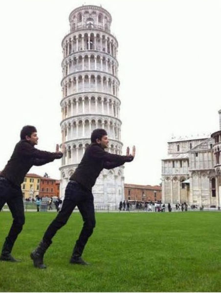 Hey Internet. Please Fix Our Pisa Photo (26 pics)