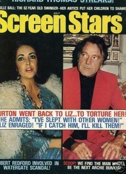 Elizabeth Taylor and Richard Burton Love Story (42 pics)