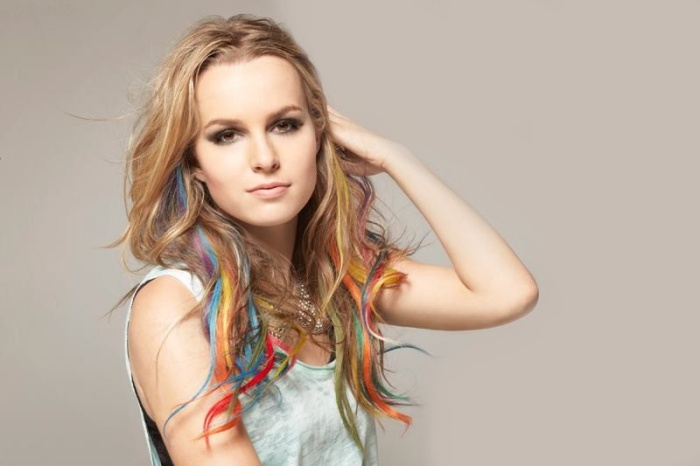 Bridgit Mendler Pictures. Hello My Name is Album Photoshoot (8 pics)