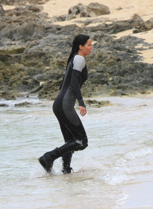"On the Set ""The Hunger Games: Catching Fire"" (12 pics)"