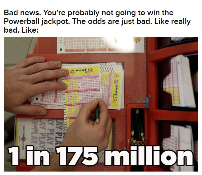 Odds Of Winning Powerball (15 pics)