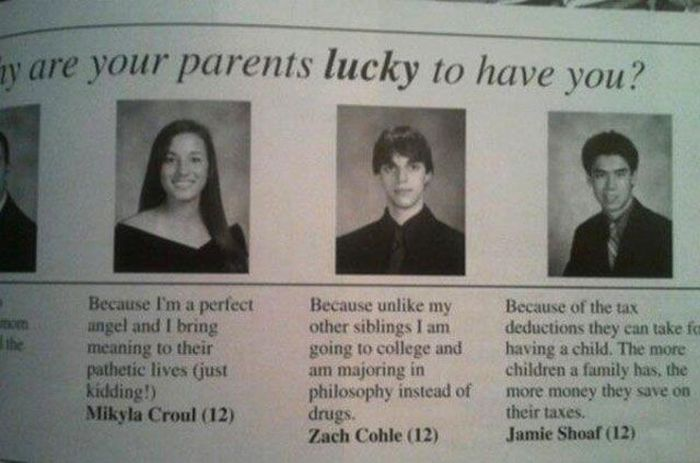 Classic Yearbook Photo Moments (20 pics)