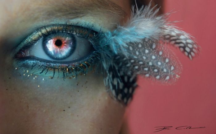 Eye Artworks by Svenja Schmitt  (25 pics)