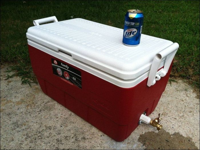 DIY Pirate's Treasure Chest Cooler (10 pics)