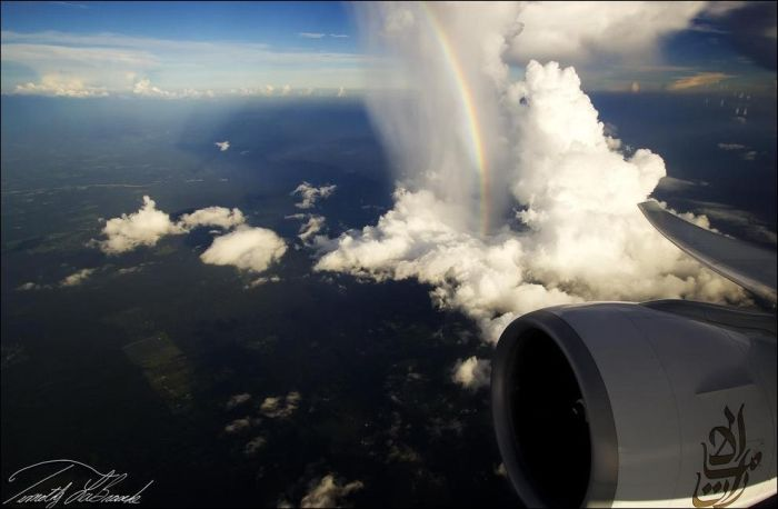 Through an Airplane Window (50 pics)