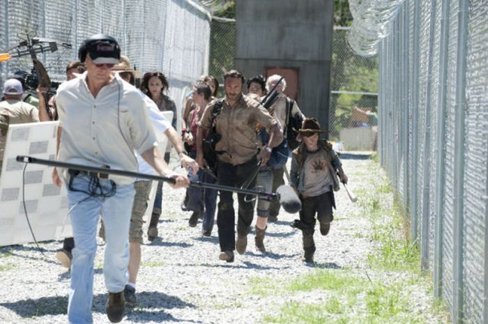 Detras de escena the Walking Dead