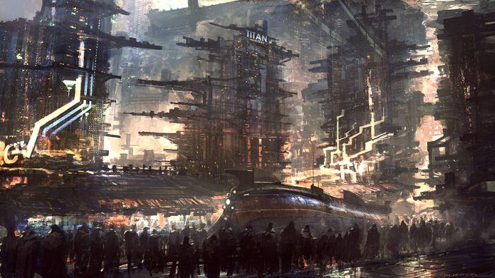 Digital Art by Feng Zhu (126 pics)