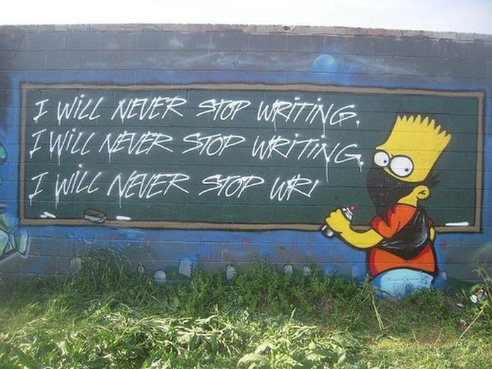 The Simpsons Street Art (28 pics)