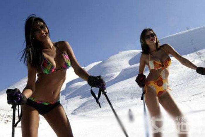 Σέξι κορίτσια σκι (75 pics)
