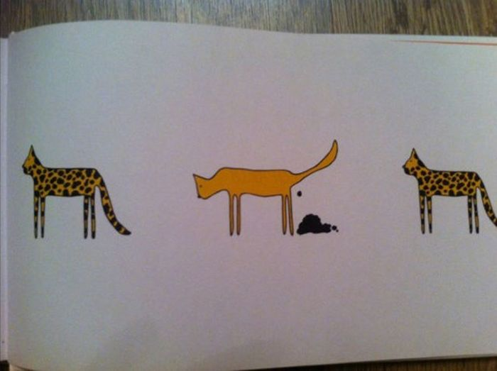 Weird Children's Book (13 pics)