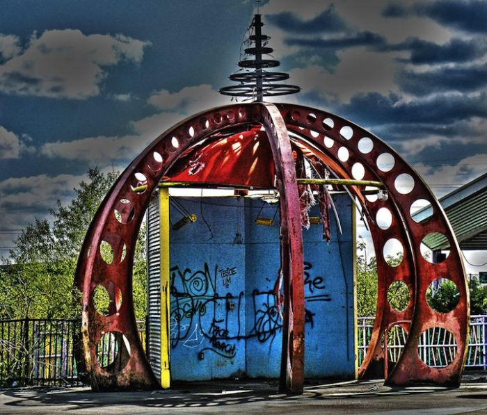 Abandoned Six Flags in New Orleans. Part 2 (73 pics)