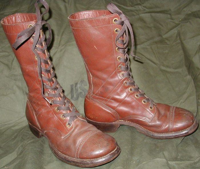 Vintage Military Boots (54 pics)