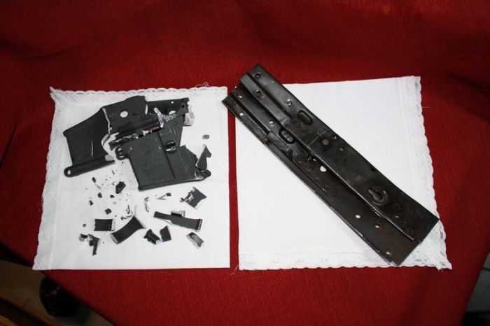 AK-47 Made out of a Shovel (49 pics)