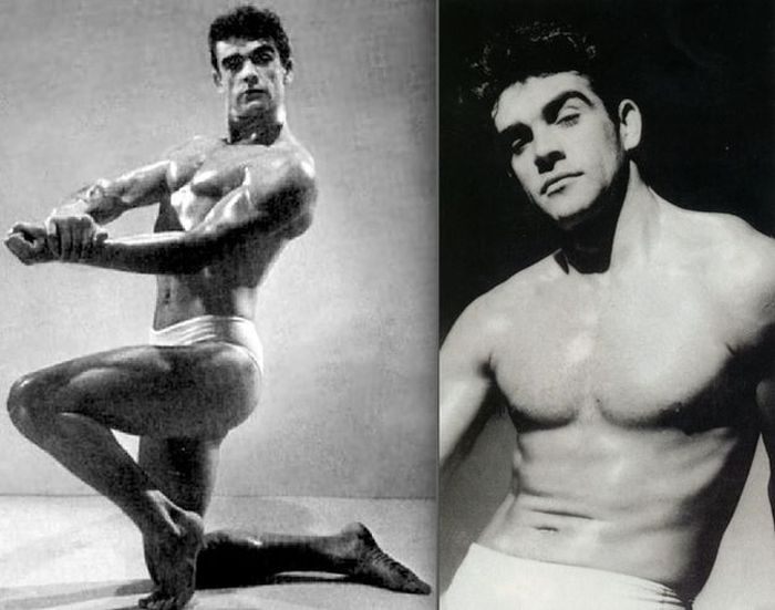 Young Sean Connery (5 pics)