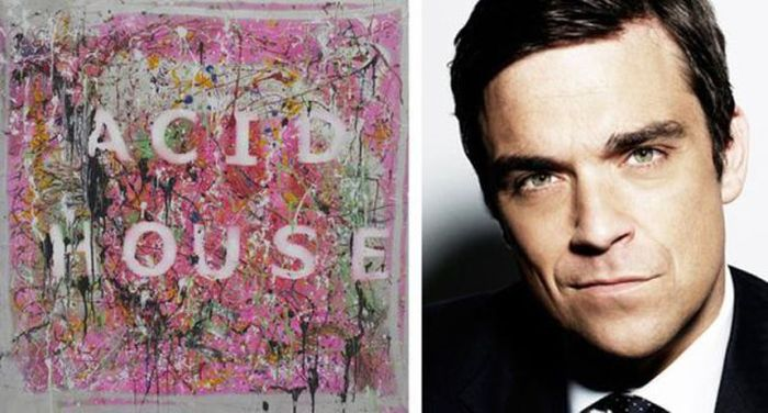 Celebrities and Their Paintings (13 pics)