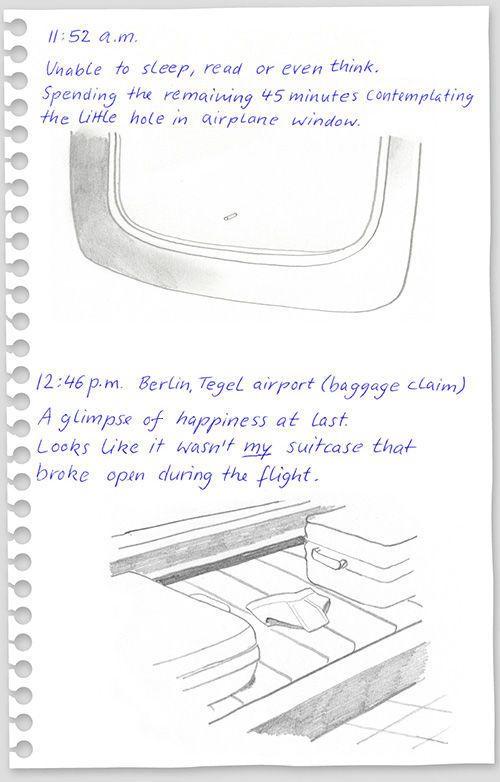 Flight from New York to Berlin (14 pics)