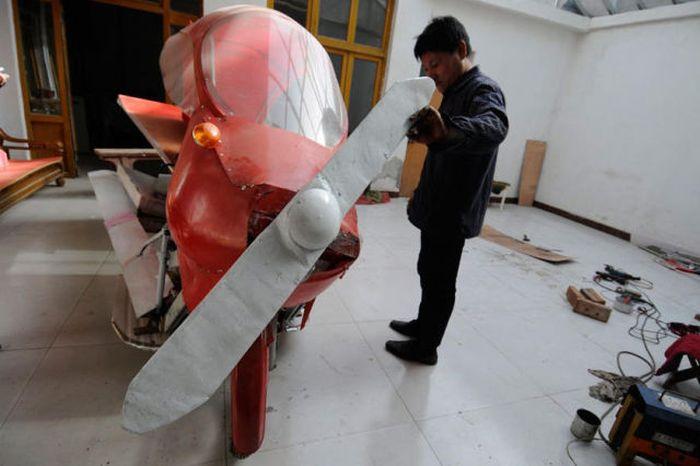 Homemade Plane (16 pics)