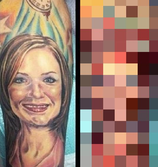 How to Fix a Tattoo of Your Ex (3 pics)