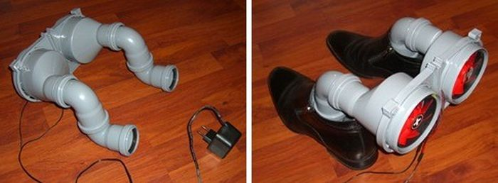 DIY Boot Dryer (12 pics)