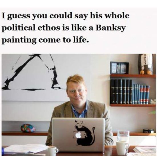 Jon Gnarr, Mayor of Reykjavik (18 pics)