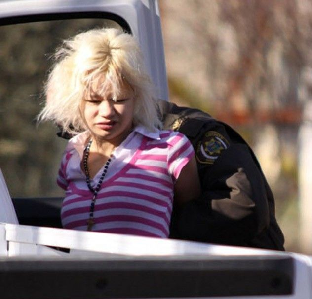 Hanna Sabata, the Dumbest Bank Robber of the Year (15 pics + video)