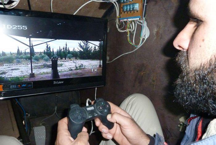 "Syria's Homemade ""Sham 2"" Tank (7 pics + video)"