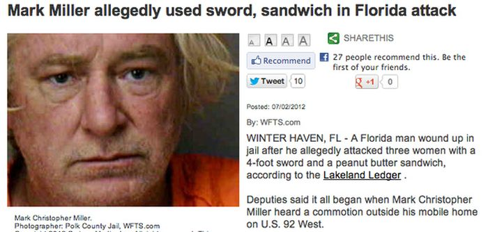 These Crazy Things Happened in Florida in 2012 (42 pics)