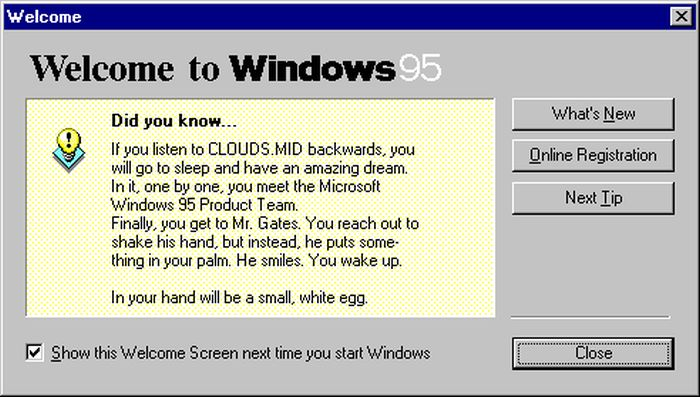 Windows 95 Tips, Tricks, and Tweaks (15 pics)