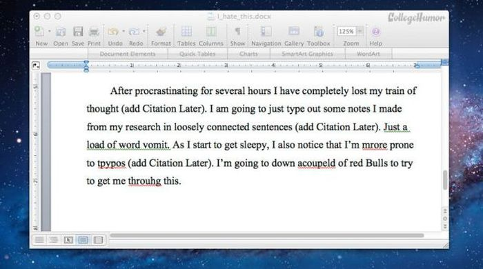 The Typical Timeline for Writing a College Paper (12 pics)
