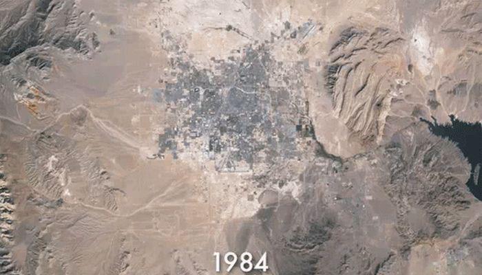 The Growth of Las Vegas (6 pics)