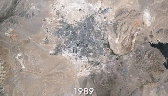 The Growth of Las Vegas (6 pics)