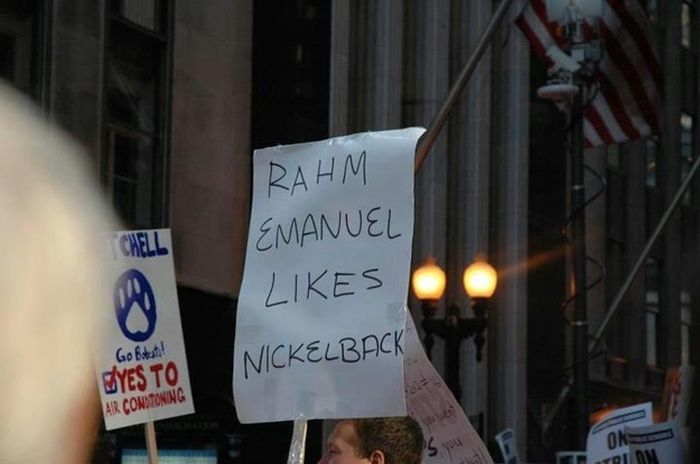 The Best Protest Signs Of 2012 (40 pics)
