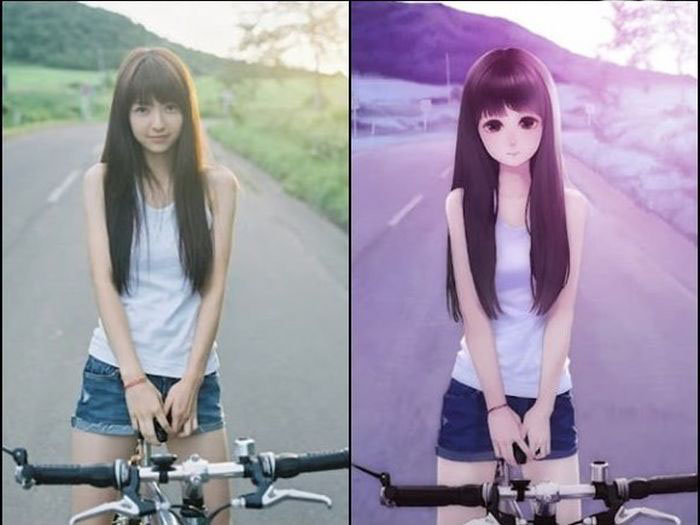Anime Girls vs Real Life Girls (25 pics)
