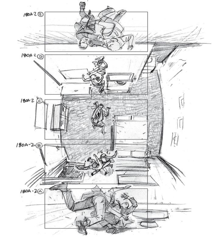 Storyboards from Famous Movies (12 pics)