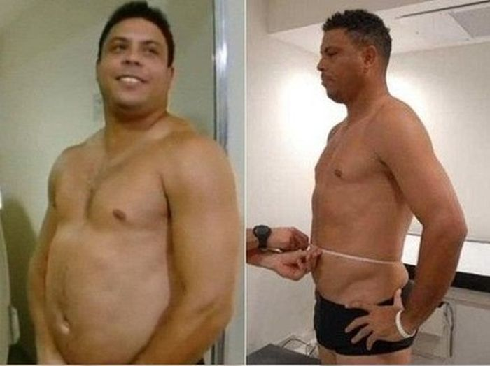 Ronaldo Lost Weight (2 pics)