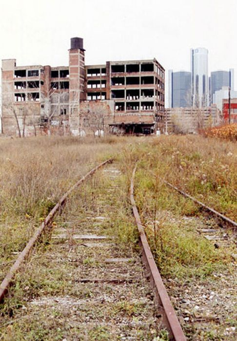 Abandoned Places of Detroit (65 pics)